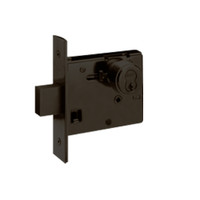 48H7M613 Best 48H Series Double Cylinder Mortise Deadlocks in Oil Rubbed Bronze