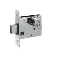 48H7M619 Best 48H Series Double Cylinder Mortise Deadlocks in Satin Nickel
