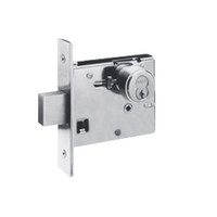 48H7M625 Best 48H Series Double Cylinder Mortise Deadlocks in Bright Chrome