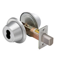 8T27MSTK625D5 Best T Series Double-Keyed Tubular Standard Deadbolt in Bright Chrome