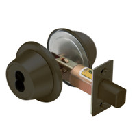 8T37MSTK613D5 Best T Series Double-Keyed Tubular Standard Deadbolt in Oil Rubbed Bronze