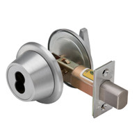 7T27KSTK626 Best T Series Single-Keyed with Turnknob Tubular Standard Deadbolt in Satin Chrome