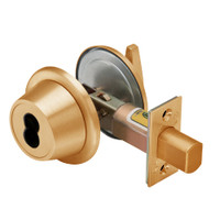 7T27KSTK612 Best T Series Single-Keyed with Turnknob Tubular Standard Deadbolt in Satin Bronze