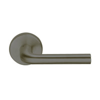 L9080L-02A-613 Schlage L Series Less Cylinder Storeroom Commercial Mortise Lock with 02 Cast Lever Design in Oil Rubbed Bronze