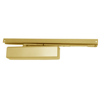 1461T-H-BUMPER-BRASS-FC LCN Surface Mount Door Closer with Hold Open Track with Bumper in Brass Finish