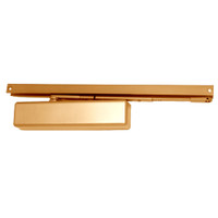 1461T-H-BUMPER-STAT-FC LCN Surface Mount Door Closer with Hold Open Track with Bumper in Statuary Finish