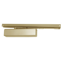 1461T-H-BUMPER-US4-FC LCN Surface Mount Door Closer with Hold Open Track with Bumper in Satin Brass Finish