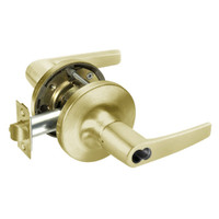 SI-MO5417LN-605 Yale 5400LN Series Double Cylinder Apartment or Exit Cylindrical Locks with Monroe Lever Prepped for Schlage IC Core in Bright Brass