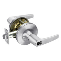 SI-MO5417LN-625 Yale 5400LN Series Double Cylinder Apartment or Exit Cylindrical Locks with Monroe Lever Prepped for Schlage IC Core in Bright Chrome
