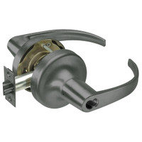 SI-PB5322LN-620 Yale 5300LN Series Single Cylinder Corridor Cylindrical Lock with Pacific Beach Lever Prepped for Schlage IC Core in Antique Nickel