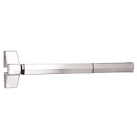 7100FP-24-629 Yale 7000 Series Fire Rated Rim Exit Device with Electric Latch Pullback in Bright Stainless Steel