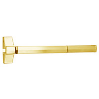 7100FP-36-605 Yale 7000 Series Fire Rated Rim Exit Device with Electric Latch Pullback in Bright Brass