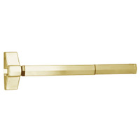 7100FP-36-606 Yale 7000 Series Fire Rated Rim Exit Device with Electric Latch Pullback in Satin Brass