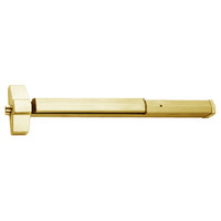 7150P-24-606 Yale 7000 Series Non Fire Rated SquareBolt Exit Device with Electric Latch Pullback in Satin Brass