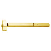 7150P-36-605 Yale 7000 Series Non Fire Rated SquareBolt Exit Device with Electric Latch Pullback in Bright Brass