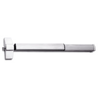 7150FP-48-629 Yale 7000 Series Fire Rated SquareBolt Exit Device with Electric Latch Pullback in Bright Stainless Steel