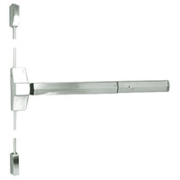 7110P-24-619 Yale 7000 Series Non Fire Rated Surface Vertical Rod Exit Device with Electric Latch Pullback in Satin Nickel