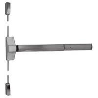 7110P-48-630 Yale 7000 Series Non Fire Rated Surface Vertical Rod Exit Device with Electric Latch Pullback in Satin Stainless Steel