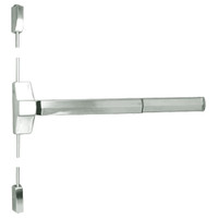 7110FP-36-619 Yale 7000 Series Fire Rated Surface Vertical Rod Exit Device with Electric Latch Pullback in Satin Nickel