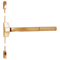 7110FP-48-612 Yale 7000 Series Fire Rated Surface Vertical Rod Exit Device with Electric Latch Pullback in Satin Bronze