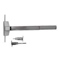 7120FP-48-630 Yale 7000 Series Fire Rated Concealed Vertical Rod Exit Device with Electric Latch Pullback in Satin Stainless Steel