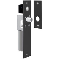 1490AIYD SDC Fits 1-1/2 inche Frame Non UL FailSafe Spacesaver Mortise Bolt Lock with Door Position Sensor in Black