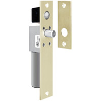 1490AIDB SDC Fits 1-1/2 inche Frame Non UL FailSafe Spacesaver Mortise Bolt Lock with Bolt Position Sensor in Dull Brass