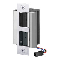 55-FP-LBM/LCM-DBM-R SDC 55 Series UniFLEX Heavy Duty Electric Strike with Door Secure Monitor and Deadbolt Monitor in Bright Chrome