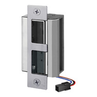 55-FQ-LBM/LCM-DBM-R SDC 55 Series UniFLEX Heavy Duty Electric Strike with Door Secure Monitor and Deadbolt Monitor in Dull Chrome