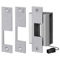 55-ABCQ SDC 55 Series UniFLEX Universal Strike - Multi Application Pack Electric Strike in Dull Chrome