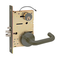 Z7850LRHN SDC Z7800 Selectric Pro Series Locked Outside Sides Failsafe Electric Mortise Lock with Nova Lever in Oil Rubbed Bronze