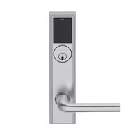 LEMD-ADD-P-02-626 Schlage Privacy/Apartment Wireless Addison Mortise Deadbolt Lock with LED and 02 Lever in Satin Chrome
