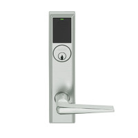 LEMD-ADD-P-05-619 Schlage Privacy/Apartment Wireless Addison Mortise Deadbolt Lock with LED and 05 Lever in Satin Nickel