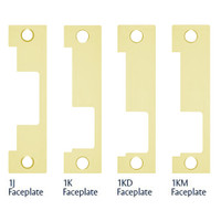 1LB-605 Hes 1500 and 1600 Series Faceplate Kit in Bright Brass