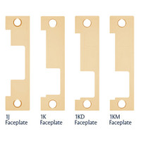 1LB-612 Hes 1500 and 1600 Series Faceplate Kit in Satin Bronze
