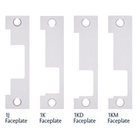 1LB-629 Hes 1500 and 1600 Series Faceplate Kit in Bright Stainless Steel