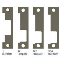 1LB-613E Hes 1500 and 1600 Series Faceplate Kit in Dark Oxidized Satin Bronze