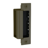 1600-DLMS-613E Hes 1600 Series Dynamic Low Profile Electric Strike Bodies with Dual Lock Monitor & Strike Monitor in Dark Oxidized Satin Bronze