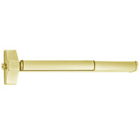 ED5200SA-605-W048-M92 Corbin ED5200 Series Fire Rated Exit Device with Touchbar Monitoring in Bright Brass Finish