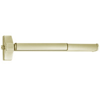 ED5200SA-606-W048-M92 Corbin ED5200 Series Fire Rated Exit Device with Touchbar Monitoring in Satin Brass Finish