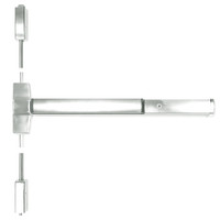 ED5400-618-W048-MELR-M92 Corbin ED5400 Series Non Fire Rated Vertical Rod Exit Device with Motor Latch Retraction and Touchbar Monitoring in Bright Nickel Finish