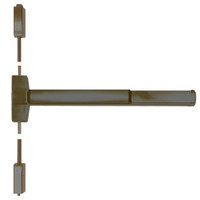 ED5400A-613-MELR-M92 Corbin ED5400 Series Fire Rated Vertical Rod Exit Device with Motor Latch Retraction and Touchbar Monitoring in Oil Rubbed Bronze Finish