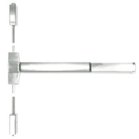 ED5400A-618-W048-MELR-M92 Corbin ED5400 Series Fire Rated Vertical Rod Exit Device with Motor Latch Retraction and Touchbar Monitoring in Bright Nickel Finish