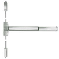 ED5400A-619-W048-MELR-M92 Corbin ED5400 Series Fire Rated Vertical Rod Exit Device with Motor Latch Retraction and Touchbar Monitoring in Satin Nickel Finish