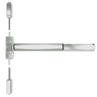 ED5470-619-W048-MELR-M92 Corbin ED5400 Series Non Fire Rated Vertical Rod Exit Device with Motor Latch Retraction and Touchbar Monitoring in Satin Nickel Finish