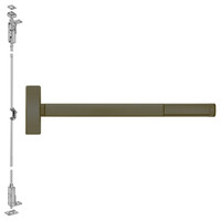 FL2708LBR-613-48 PHI 2700 Series Fire Rated Wood Door Concealed Vertical Exit Device Prepped for Key Controls Lever-Knob in Oil Rubbed Bronze Finish