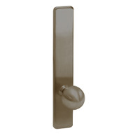 G855-613 Corbin ED4000 Series Exit Device Trim with Classroom Global Knob in Oil Rubbed Bronze Finish