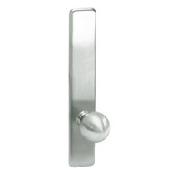 G859-618 Corbin ED4000 Series Exit Device Trim with Storeroom Global Knob in Bright Nickel Finish