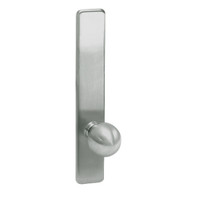 G859-619 Corbin ED4000 Series Exit Device Trim with Storeroom Global Knob in Satin Nickel Finish
