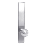 G859-625 Corbin ED4000 Series Exit Device Trim with Storeroom Global Knob in Bright Chrome Finish